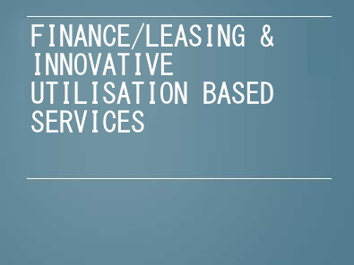 Finance & leasing for multi-asset transactions